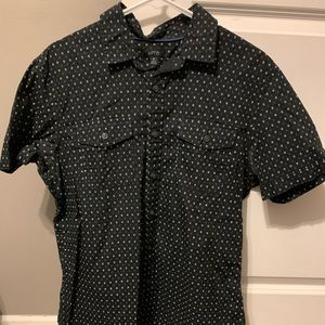 Men's American Eagle Black Short Sleeve Shirt